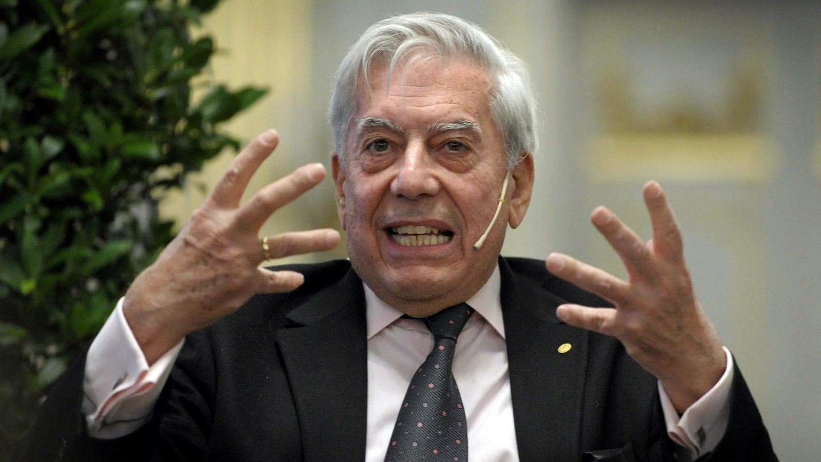Mario Vargas Llosa, guanyador del Nobel de Literatura