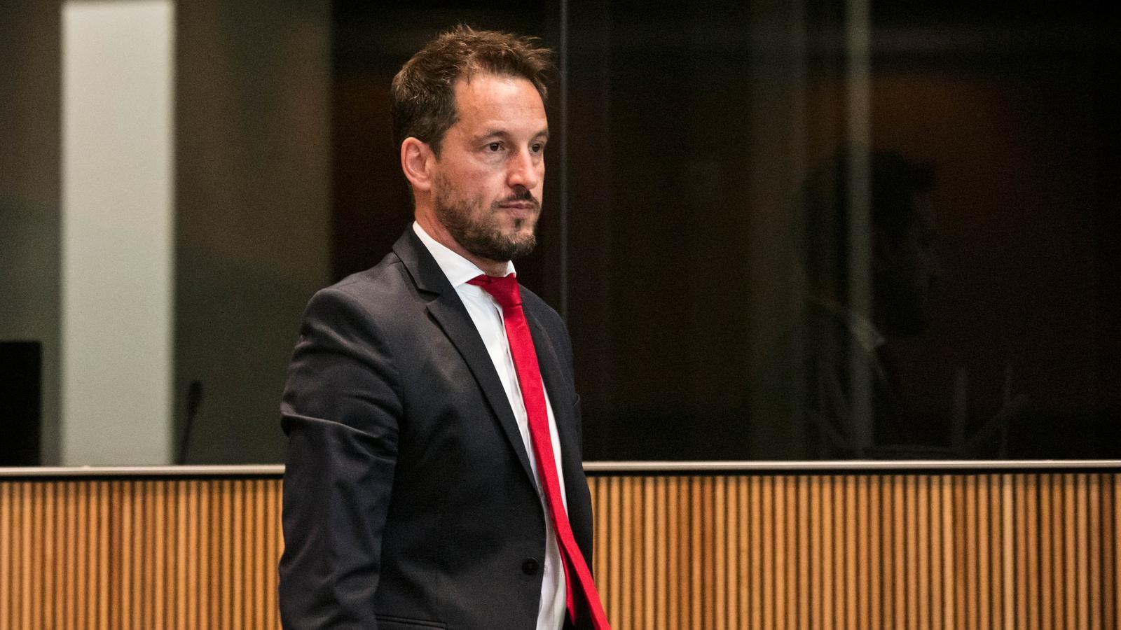 El president del grup parlamentari socialdemòcrata, Pere López. / PARTIT SOCIALDEMÒCRATA