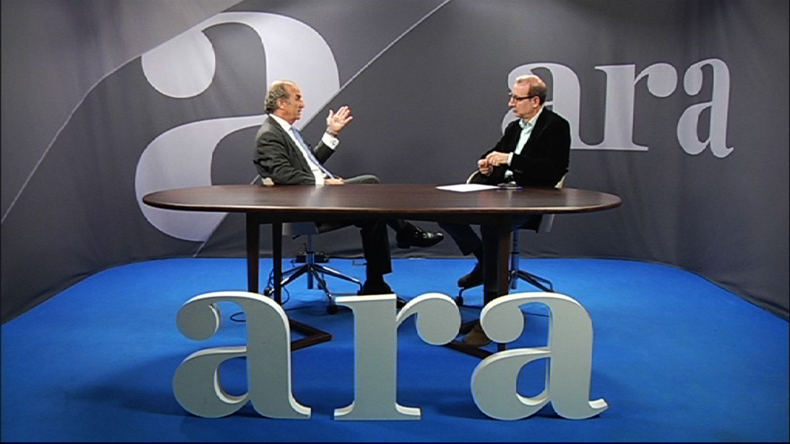 Entrevista d'Antoni Bassas a Joaquim Gay de Montellà