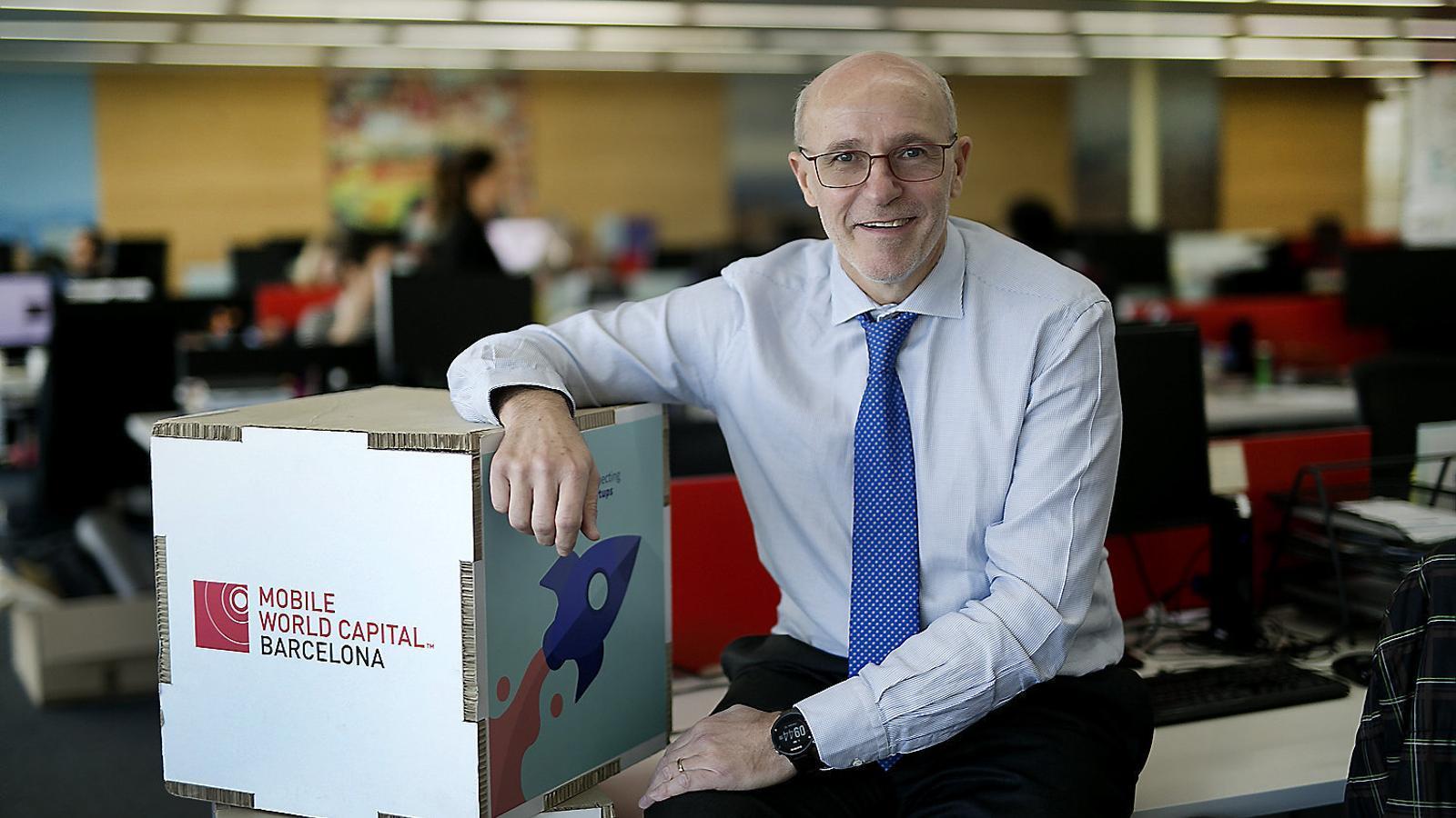 """Carlos Grau: """"La Mobile World Capital farà projectes  A tot Espanya, no només a Barcelona"""""""