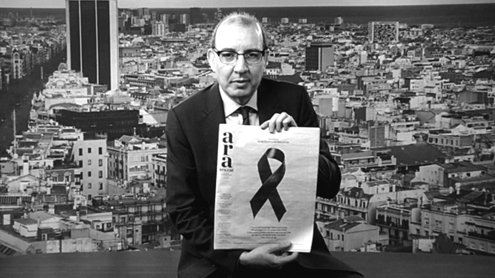L'editorial d'Antoni Bassas: 'No tinguem por' (25/03/2015)