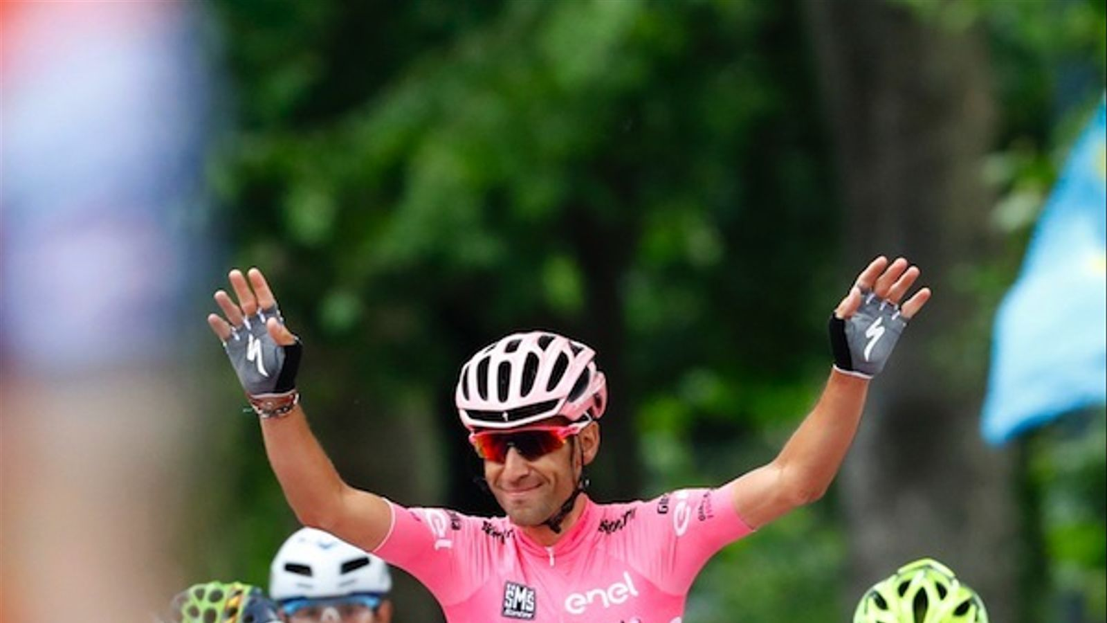 Vicenzo Nibali en l'úlitma jornada del Giro