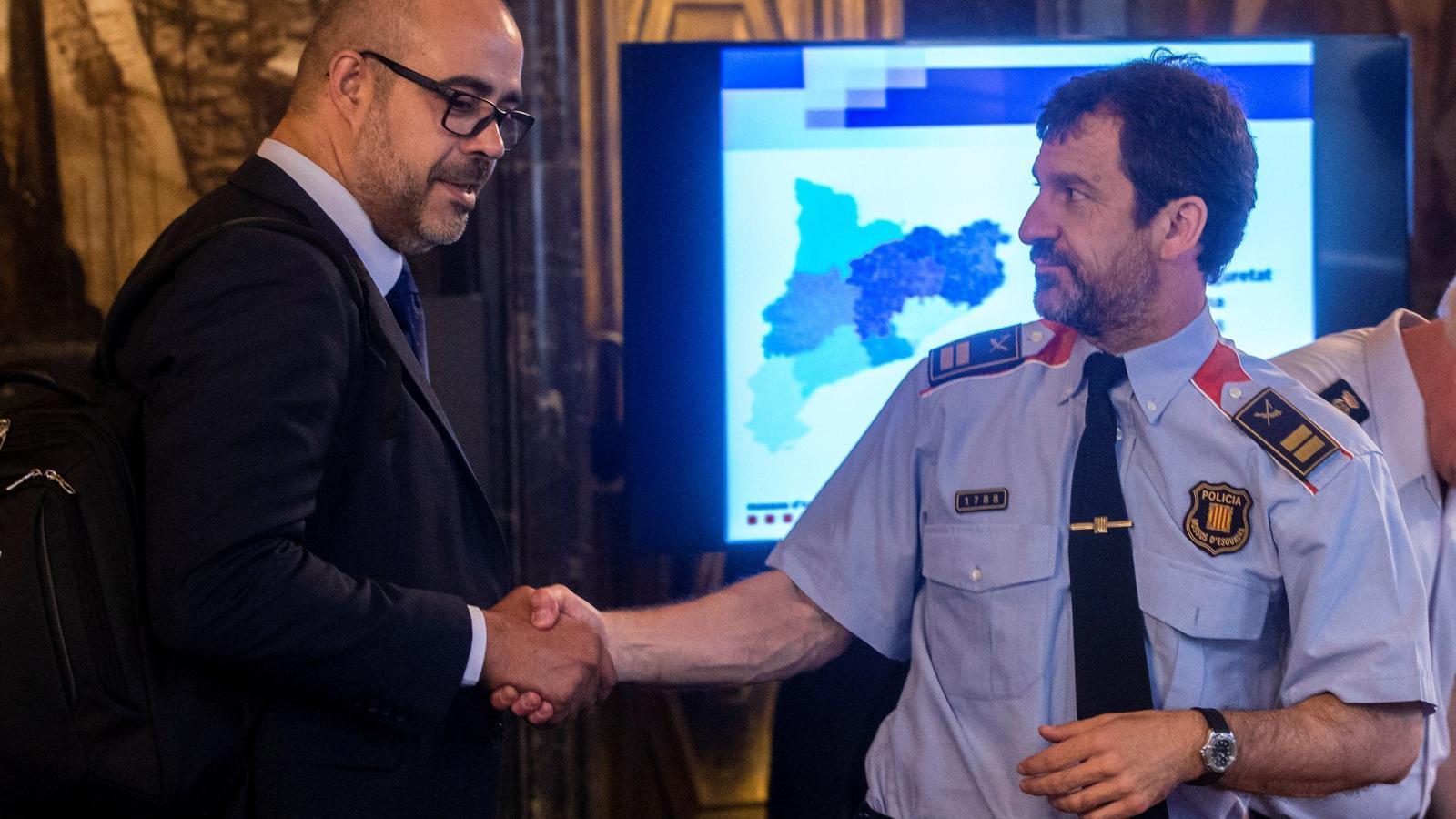 El comissari en cap dels Mossos d'Esquadra, Ferran López, renuncia a dirigir el cos