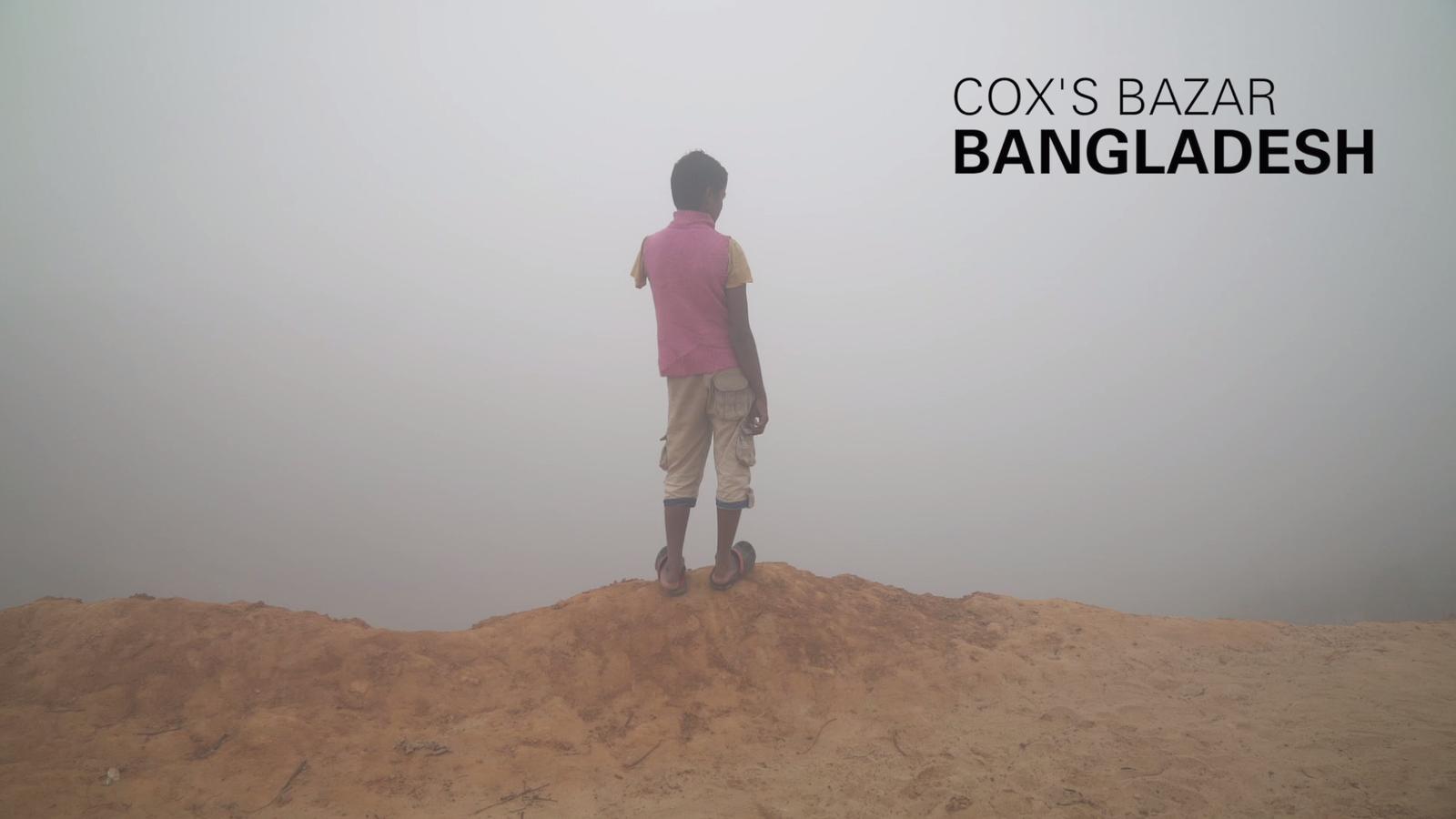 Mohammad Faisal, de 15 anys, va perdre el braç en l'atac dels soldats birmans al seu poble
