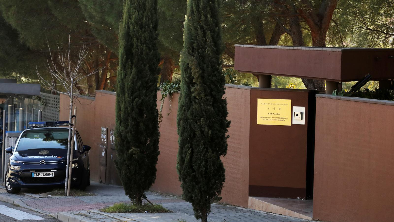 L'assalt a l'ambaixada nord-coreana a Madrid el va liderar un mexicà que va contactar després amb l'FBI
