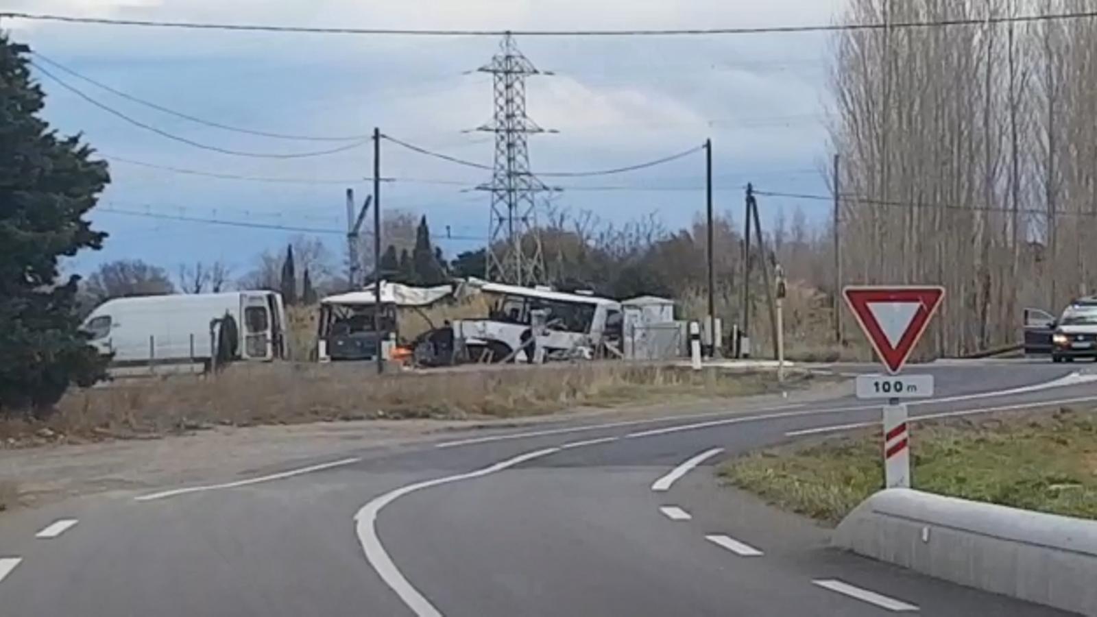 Pugen a sis les víctimes mortals de  l'accident ferroviari a Perpinyà