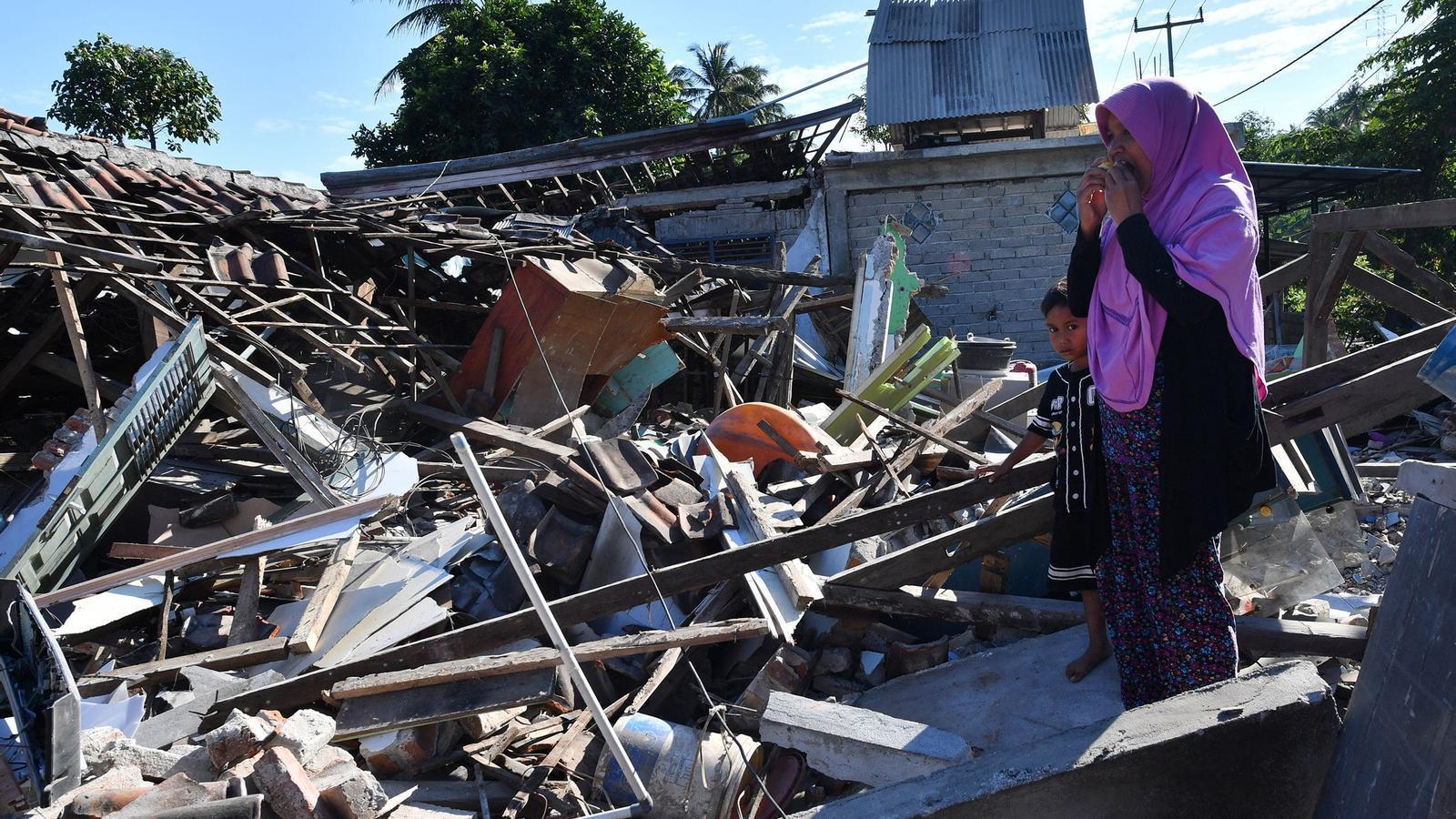 S'eleven a 131 els morts pel terratrèmol a l'illa indonèsia de Lombok