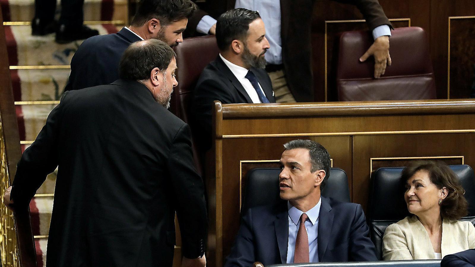 La Moncloa consolida ERC com a soci prioritari