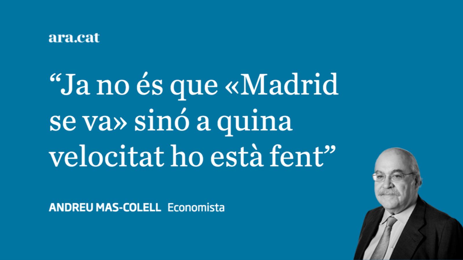 Què farem amb Madrid?