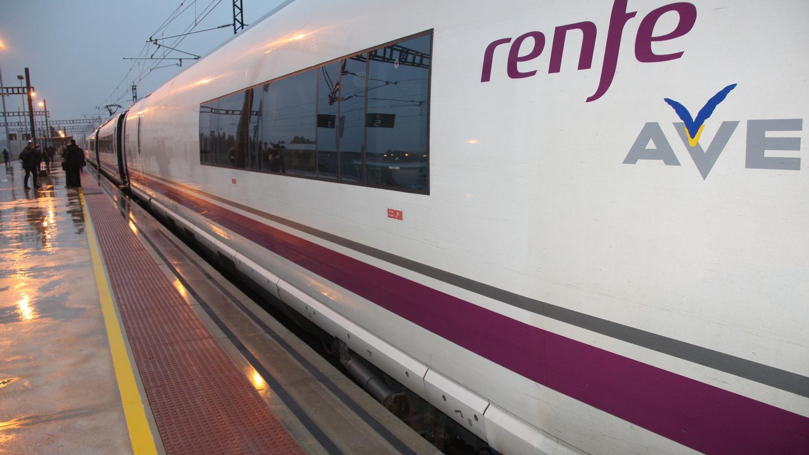 Renfe ajorna la liberalització del transport de passatgers fins al 2020, límit legal fixat per Europa