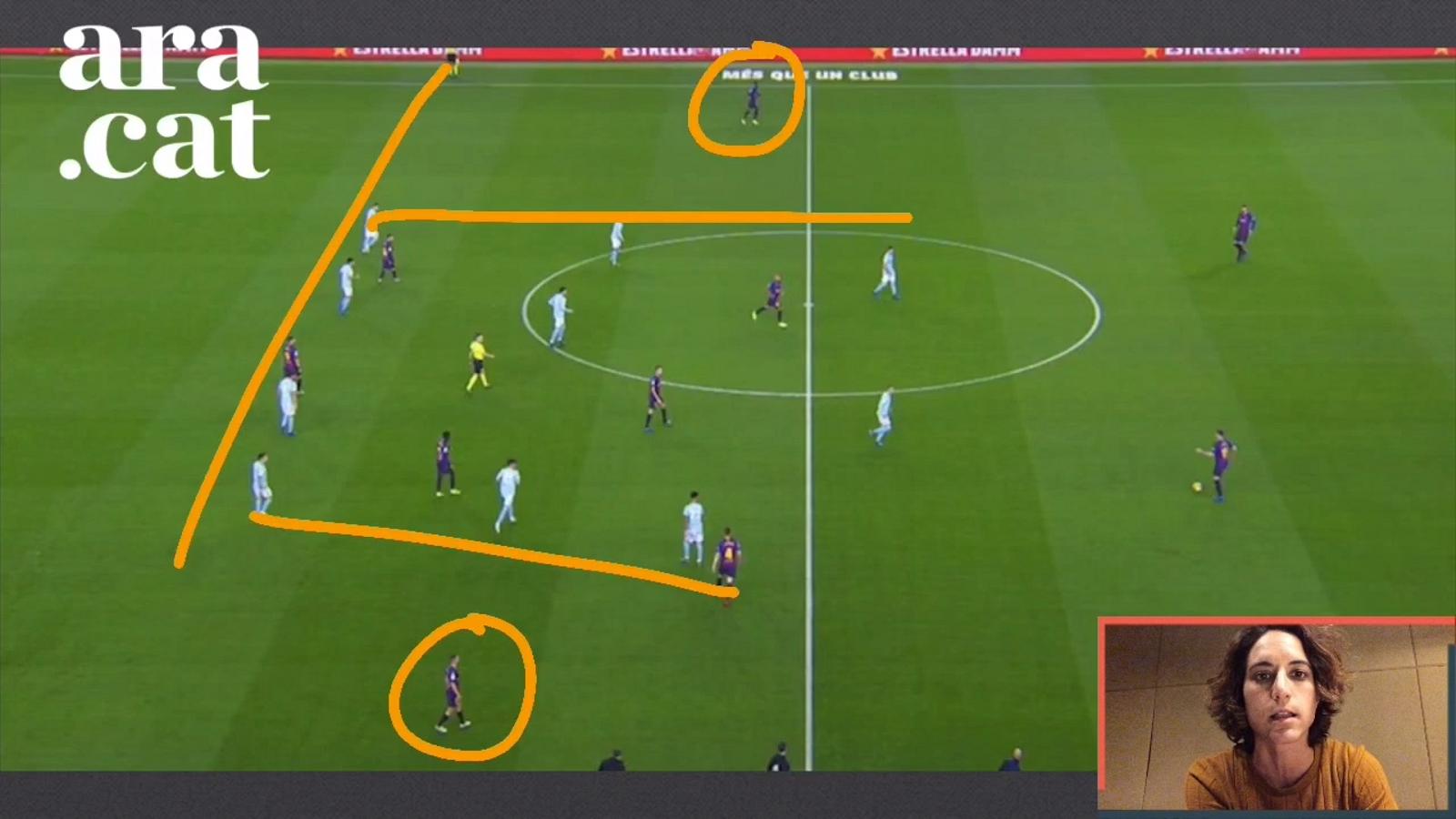 L'anàlisi en vídeo del Barça-Celta: partit per als laterals