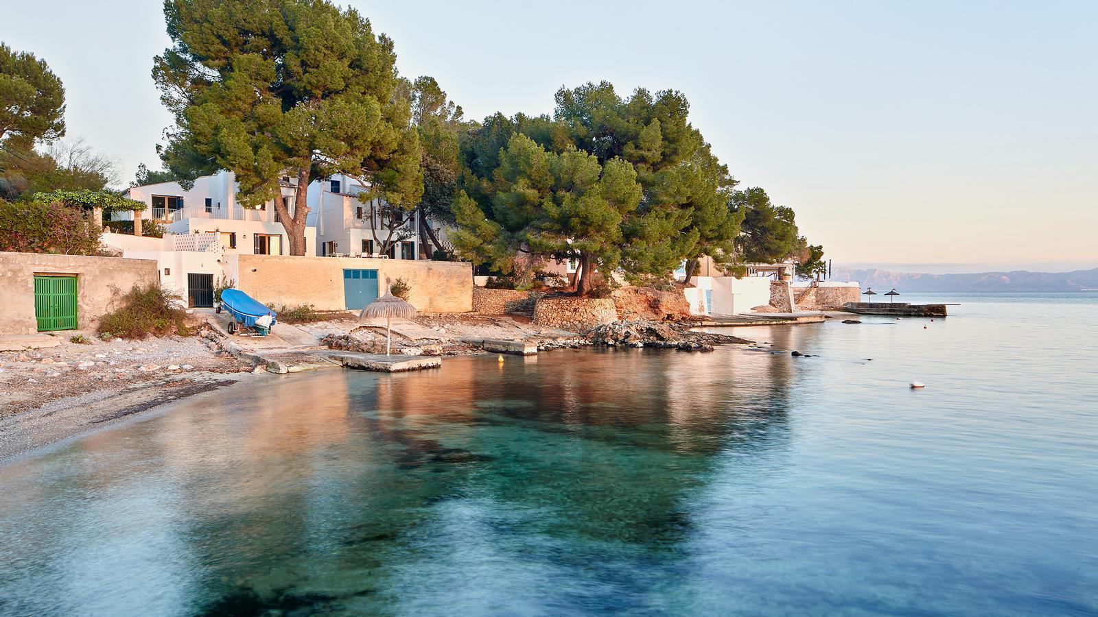 Imatge exterior de les dues cases protegides situades a Mallorca