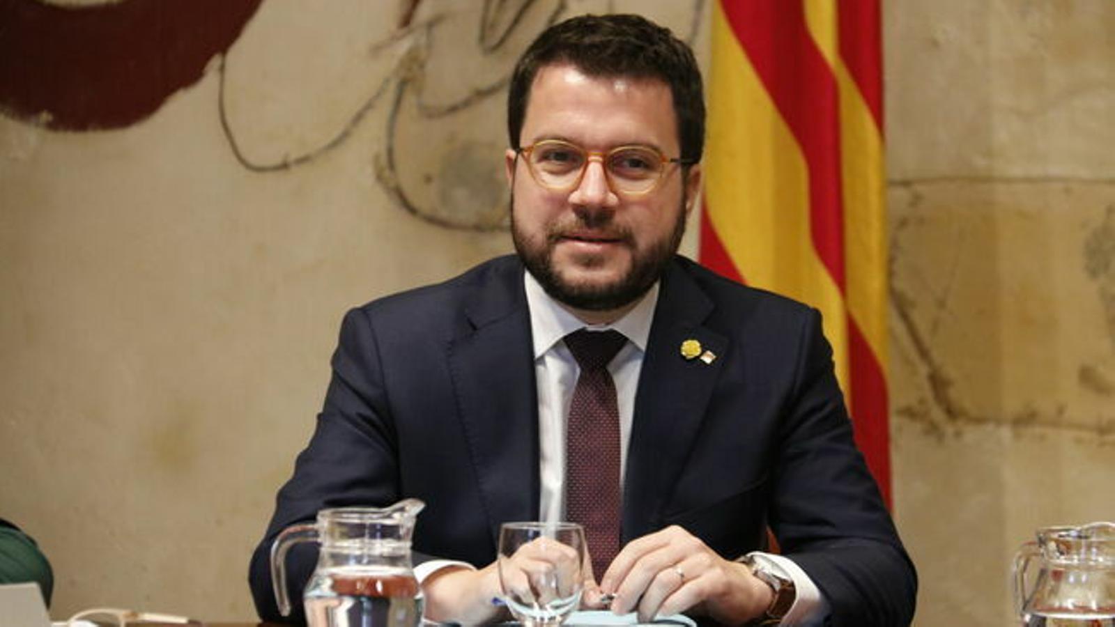 """Aragonès, sobre l'acord de govern a l'Estat: """"Hem tingut la sensació que se'ns ha pres el pèl durant molts mesos"""""""