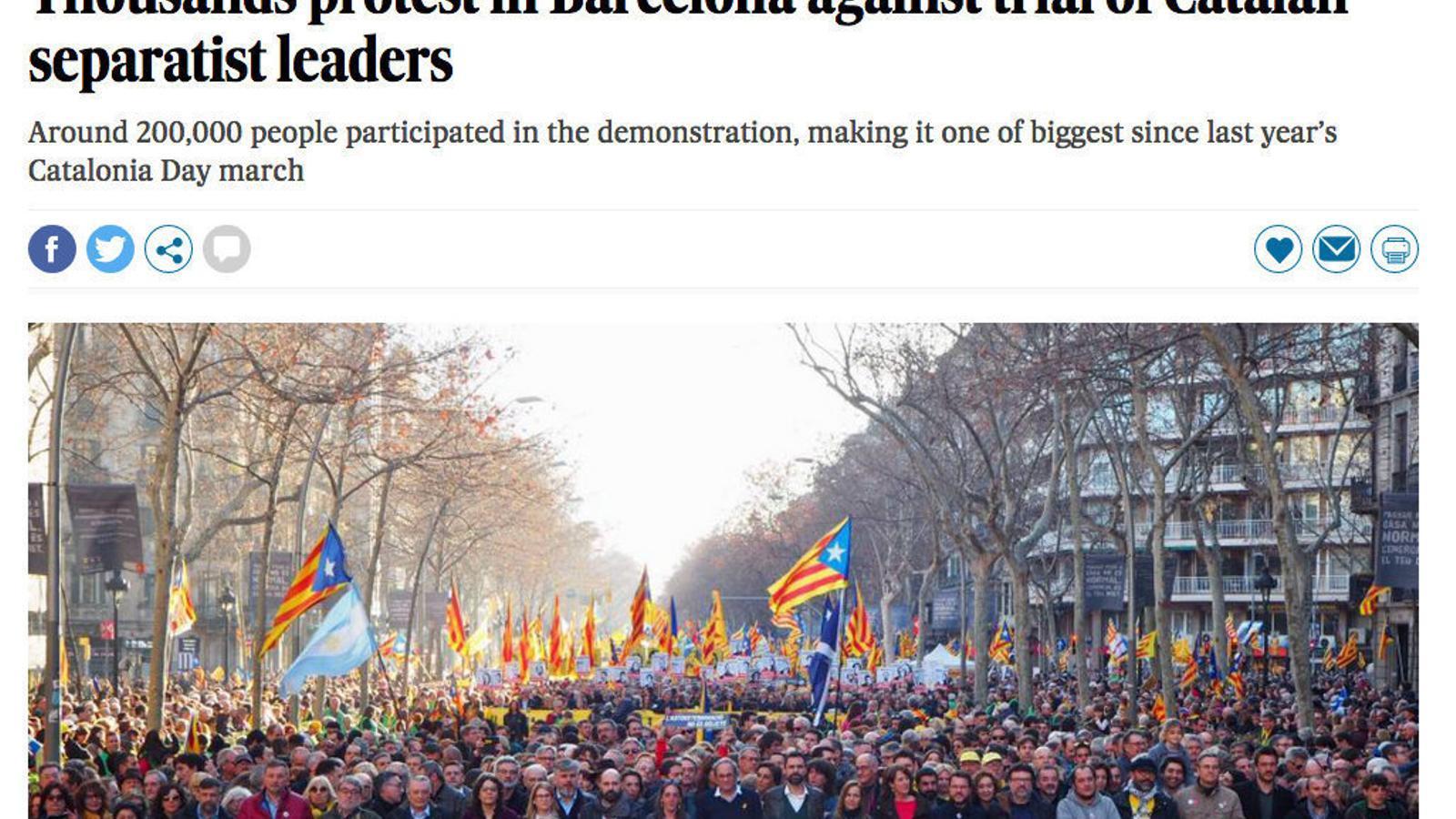 Les diferències entre 'El País' i 'The Country'
