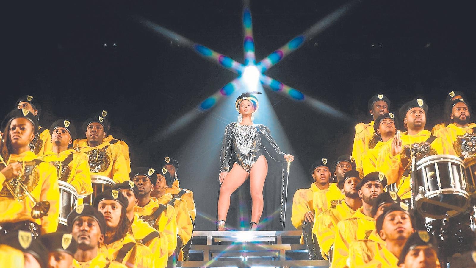 Beyoncé al Festival Coachella de 2018.
