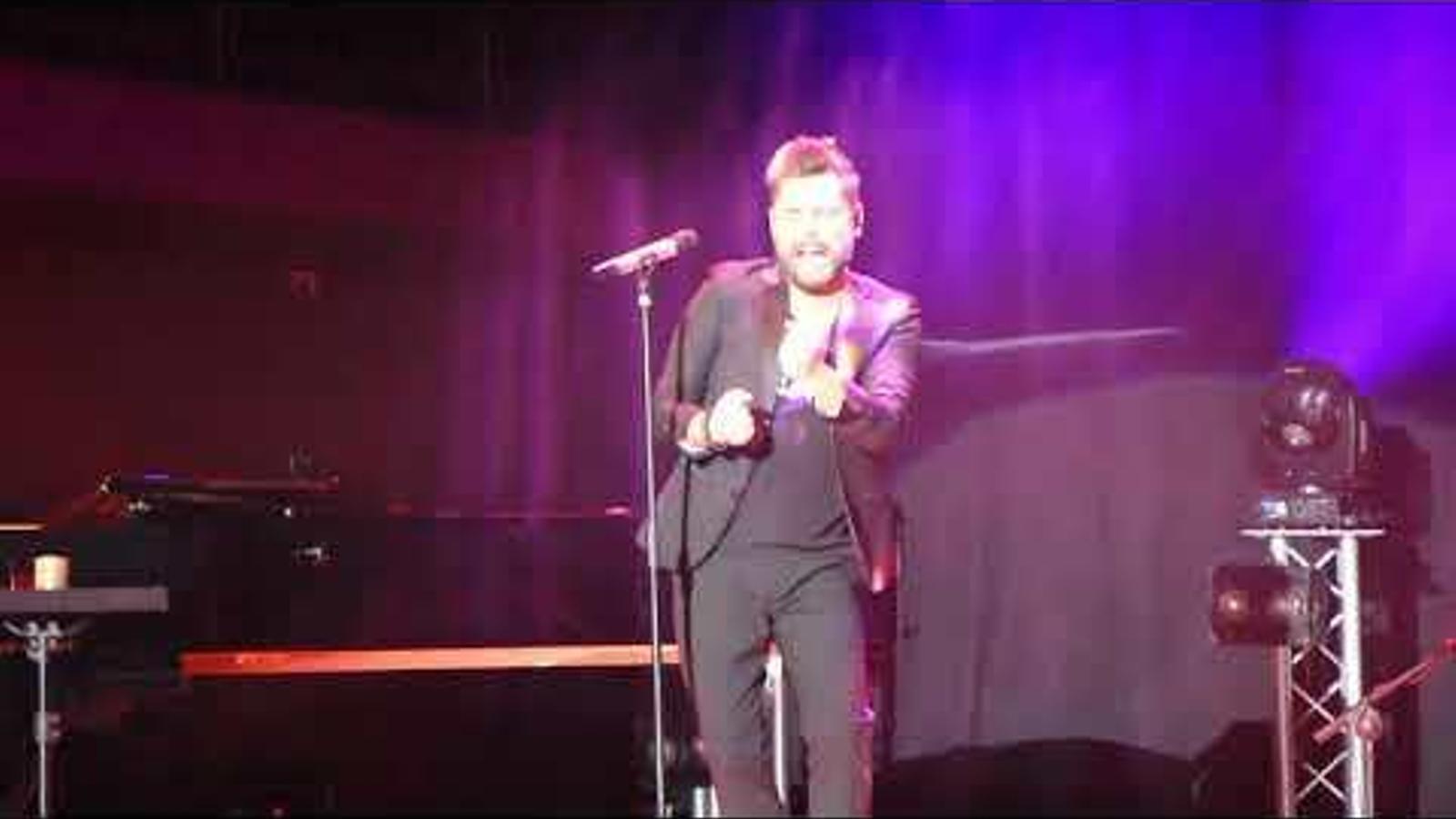 Concert de Miguel Poveda a l'Auditori Nacional
