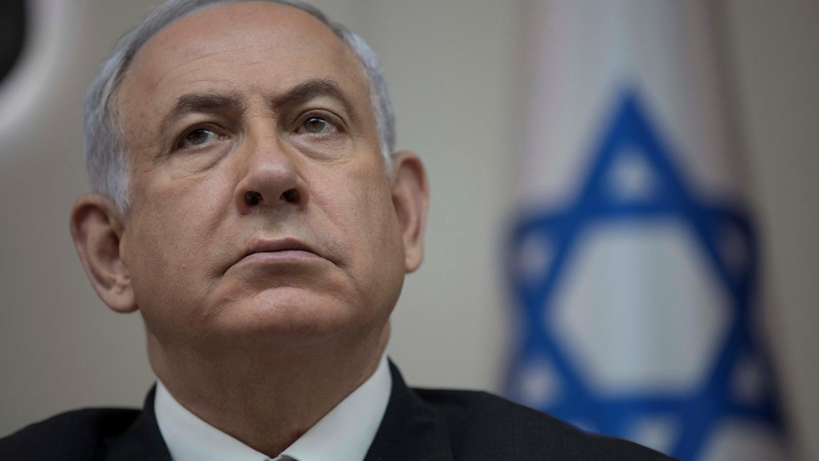 Benjamin Netanyahu en una imatge del passat 3 de setembre, durant una reunió del seu gabinet / ABIR SULTAN / EFE