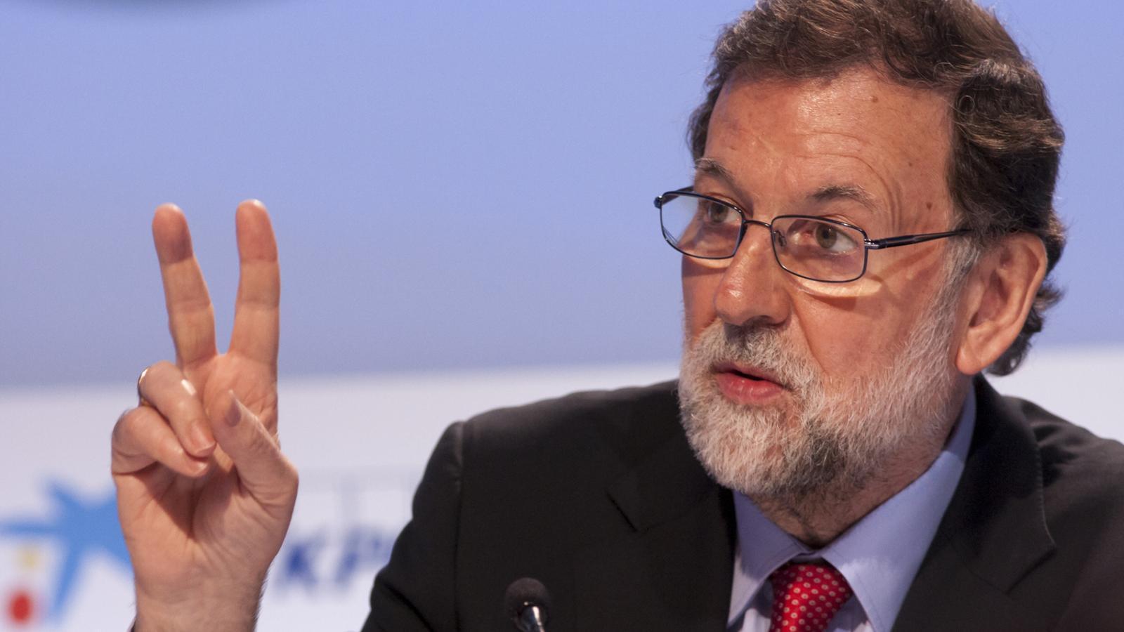 """Rajoy avisa que la independència de Catalunya seria """"un trauma de conseqüències terribles"""""""
