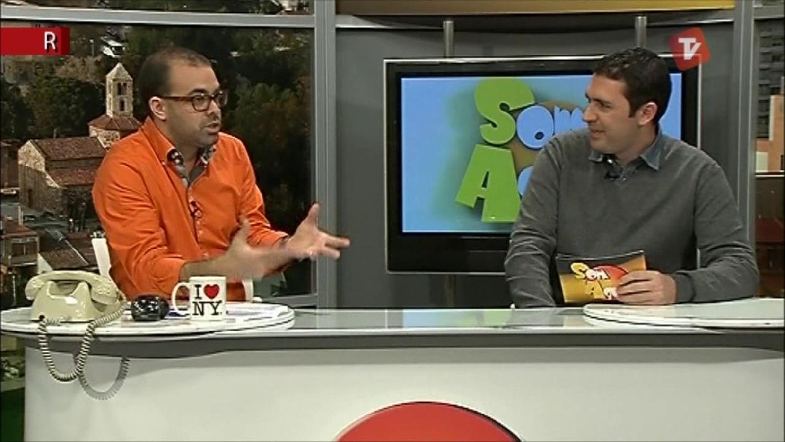 Ara Vadejocs al Som Aquí de Canal Terrassa Vallès (07/11/2011)