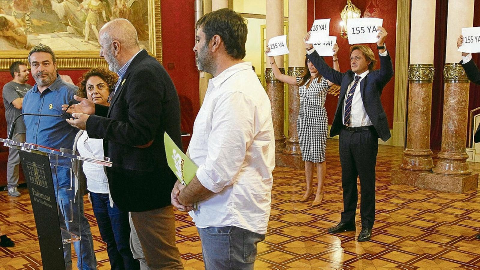 La sentència remou  El Parlament i divideix El Govern balear