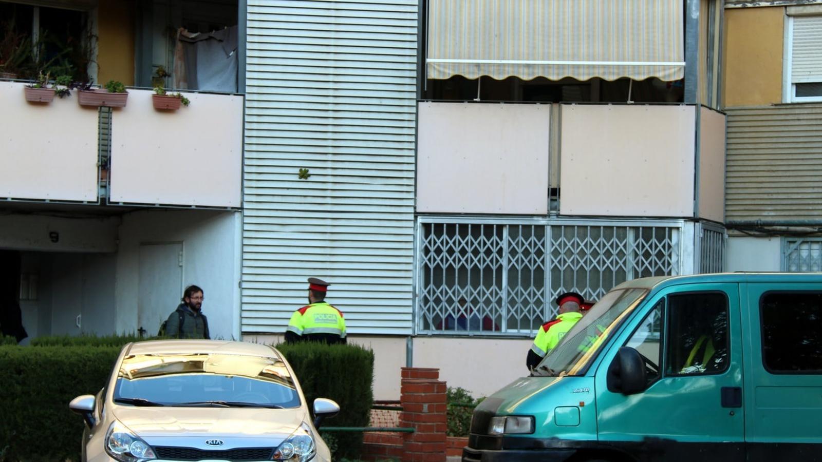 Investiguen la mort d'una anciana i el seu fill a Badia del Vallès