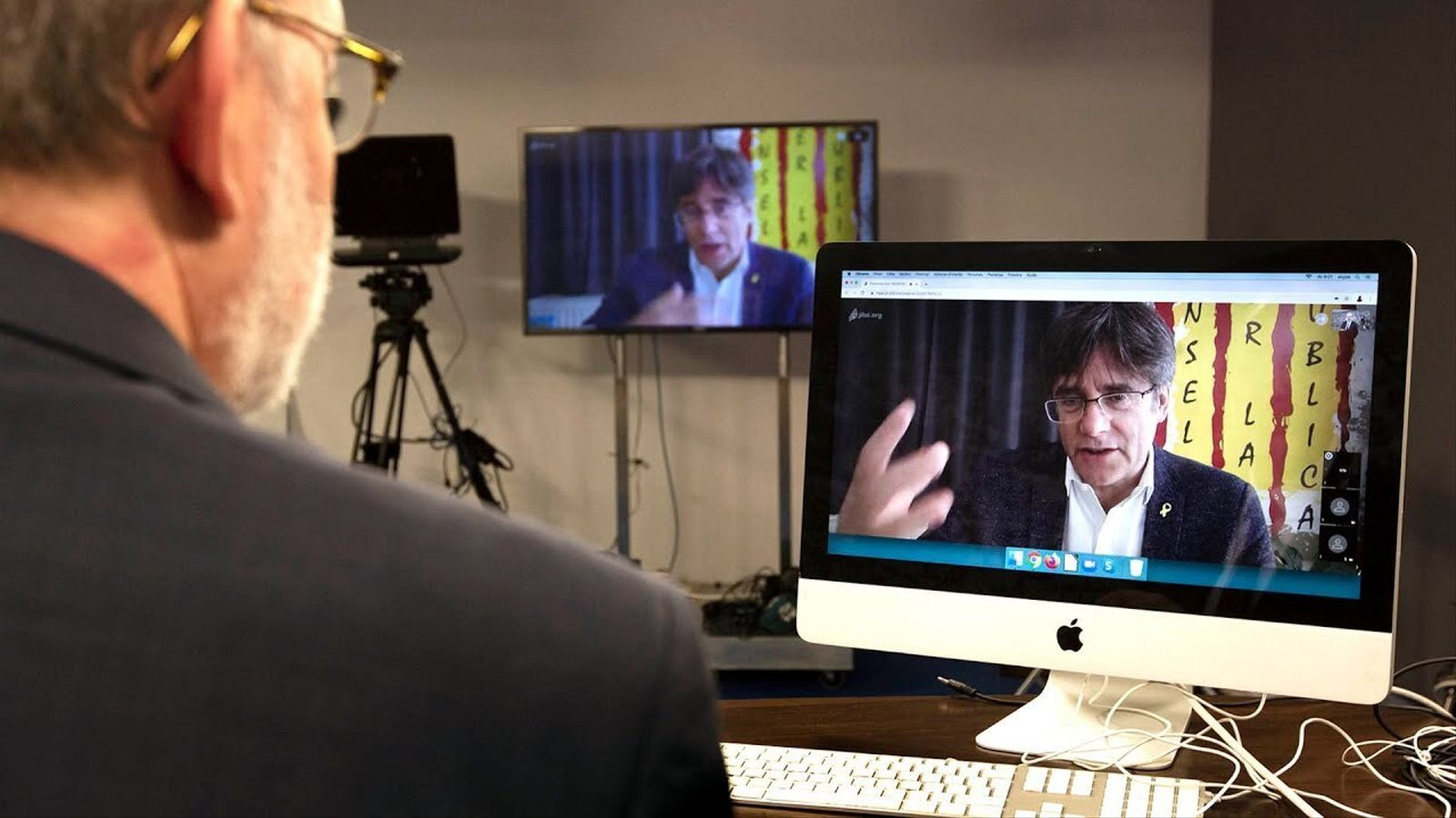 Entrevista d'Antoni Bassas a Carles Puigdemont