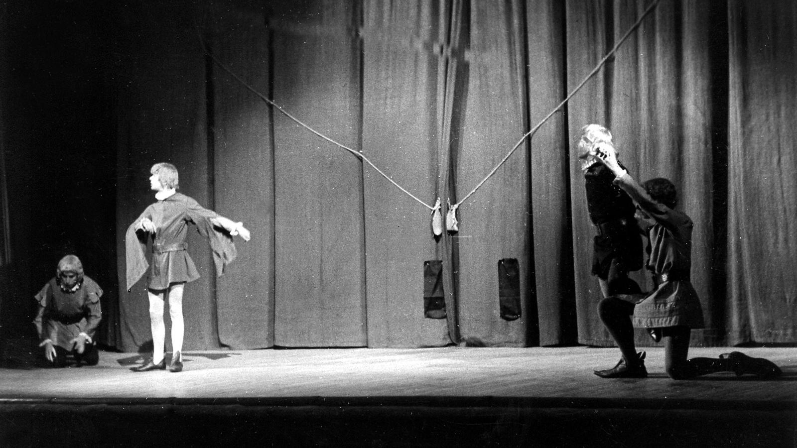 Representació d''Or i sal' al Palau de la Música Catalana, Barcelona, 18 de maig del 1961