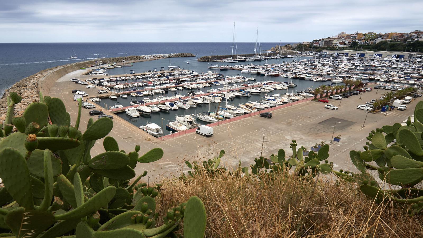 Vista general del Port de Palamós