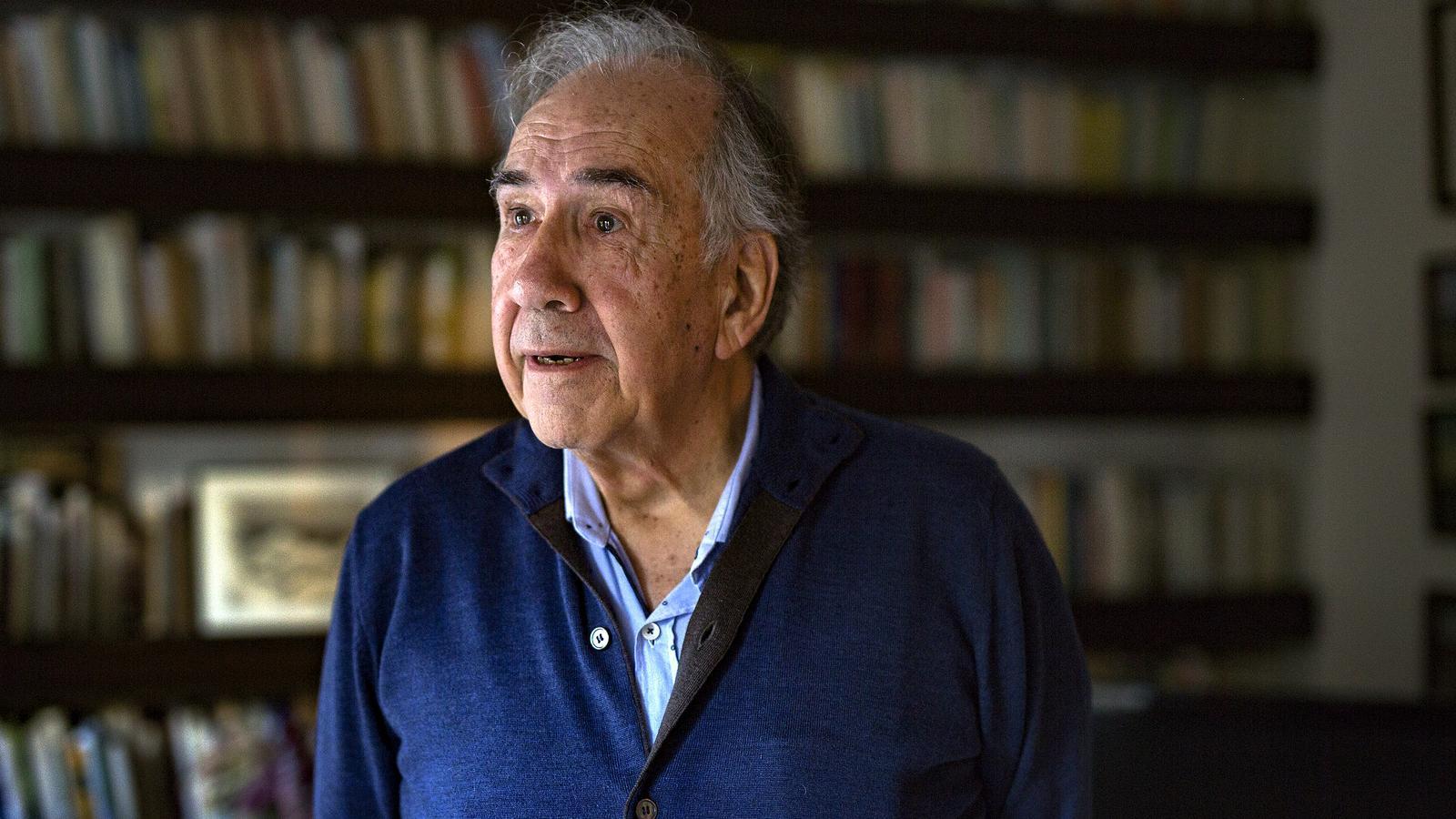 Joan Margarit guanya el premi Cervantes