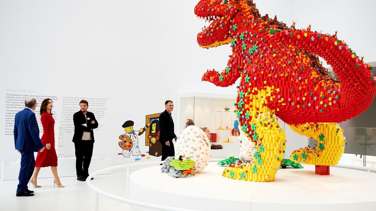 Imatge de la seu de Lego a Billund, Dinamarca.