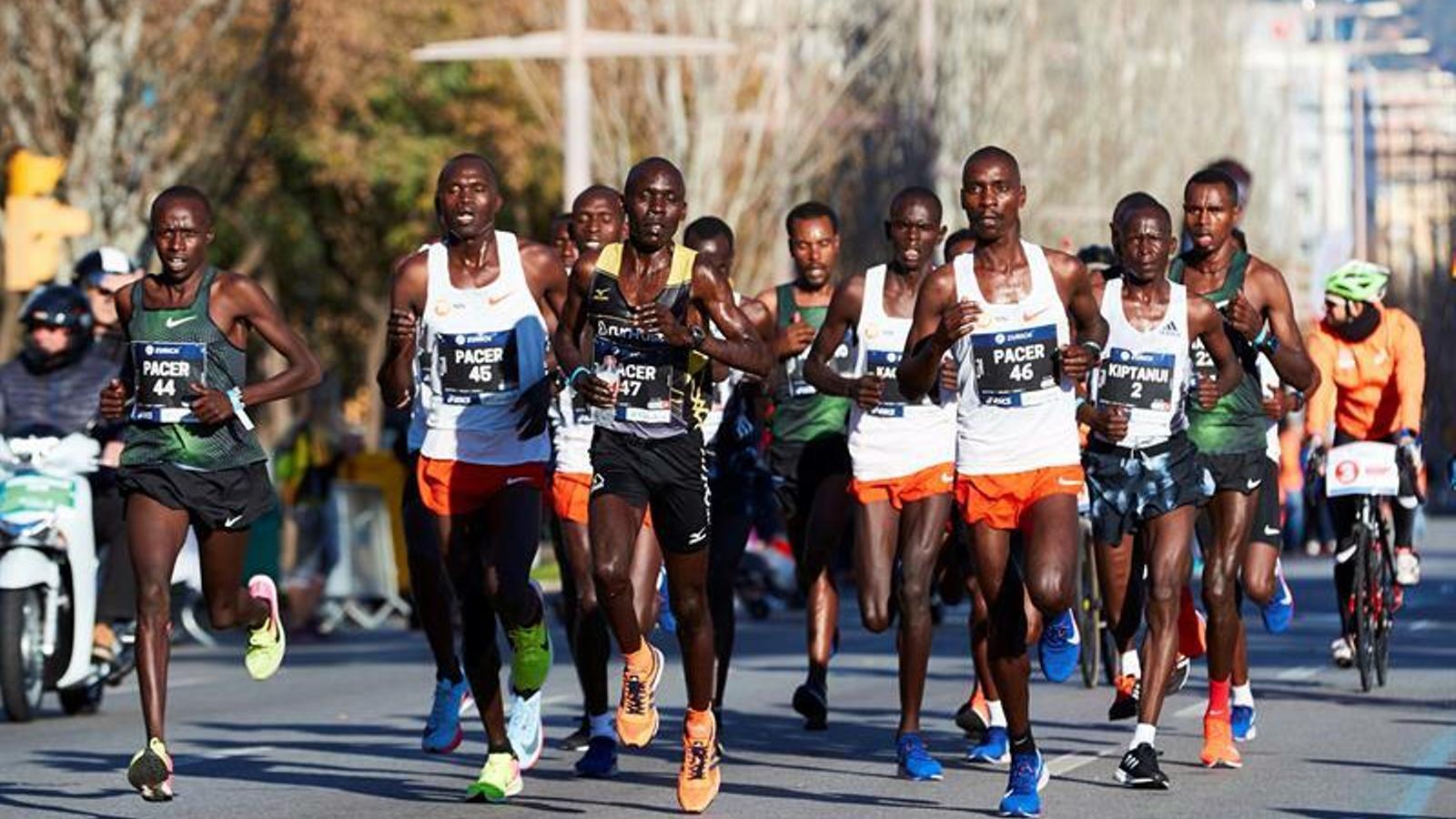 Els atletes que han liderat la primera part de la prova