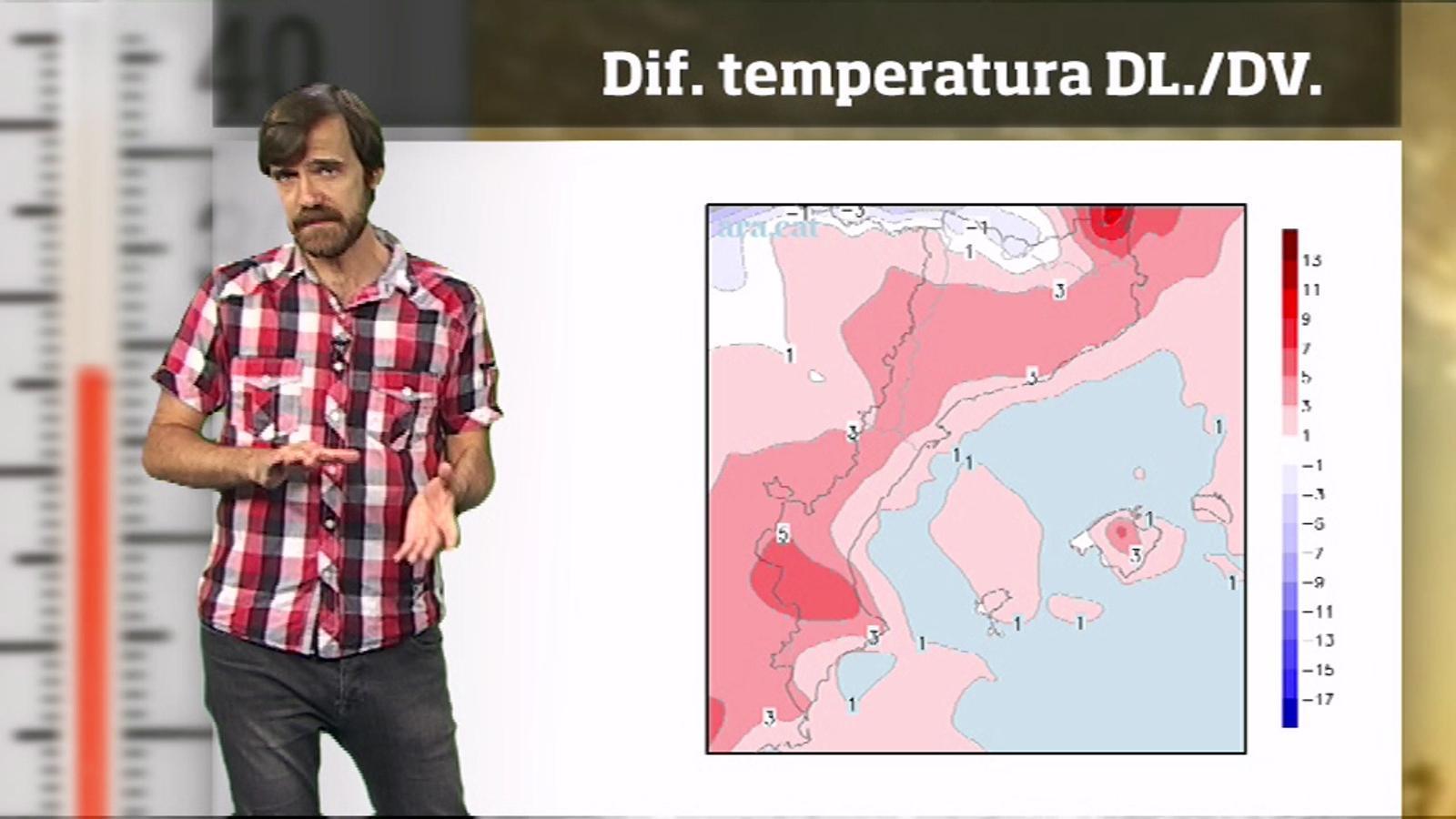 La méteo en 1 minut: un altre episodi de calor extrema per Sant Joan
