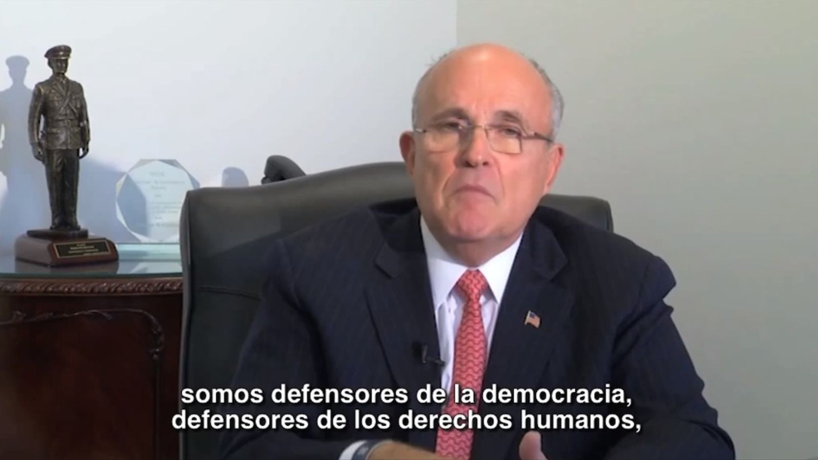 Vídeo de Rudolph Giuliani donant suport a Vidal-Quadras