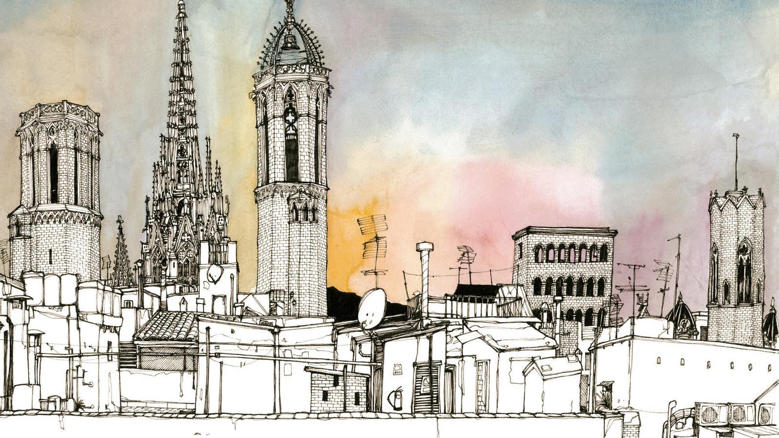 'Tejados de Barcelona' / MIGUEL HERRANZ