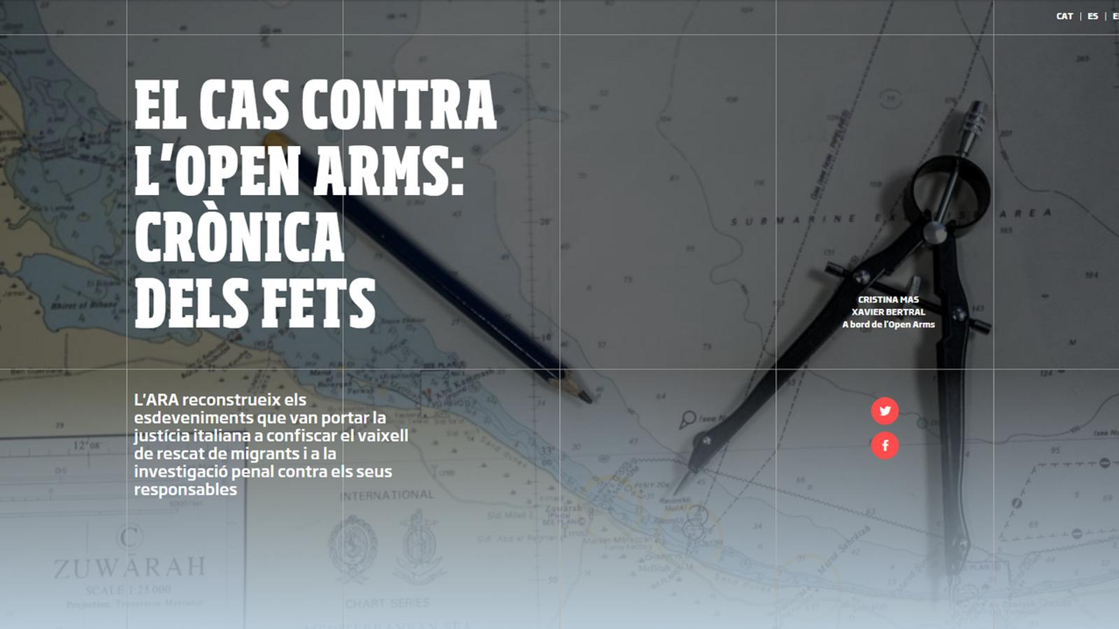 [INTERACTIU]: El cas contra l'Open Arms: crònica dels fets