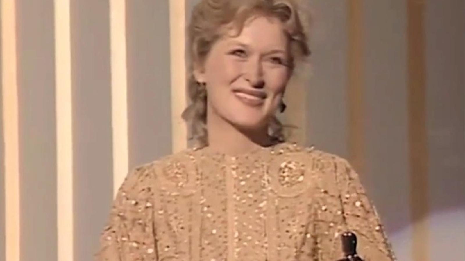 El daurat, el color de la sort per Meryl Streep