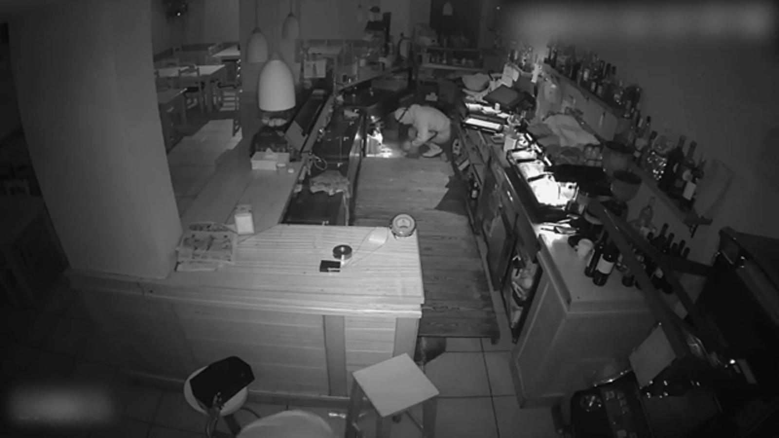 Les imatges del robatori