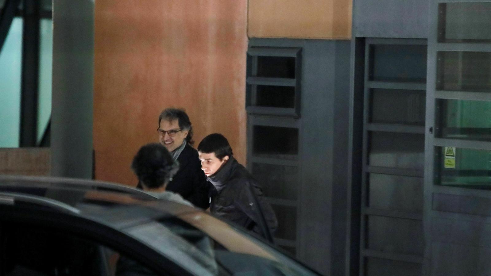 Jordi Cuixart surt de la presó en el seu primer permís penitenciari