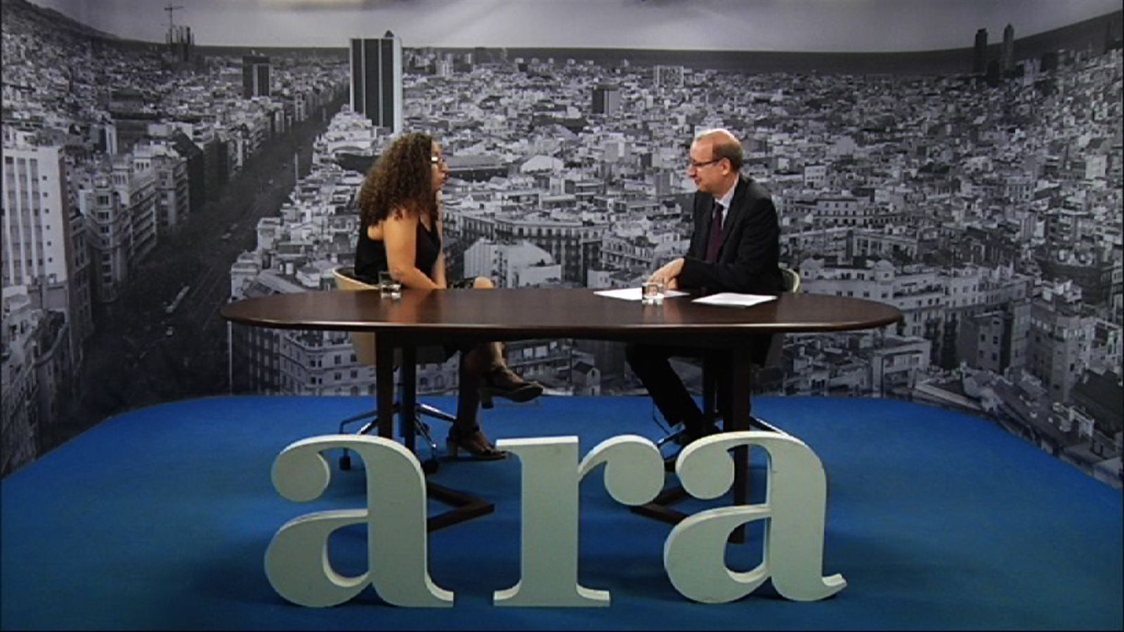 Entrevista d'Antoni Bassas a Najat El Hachmi