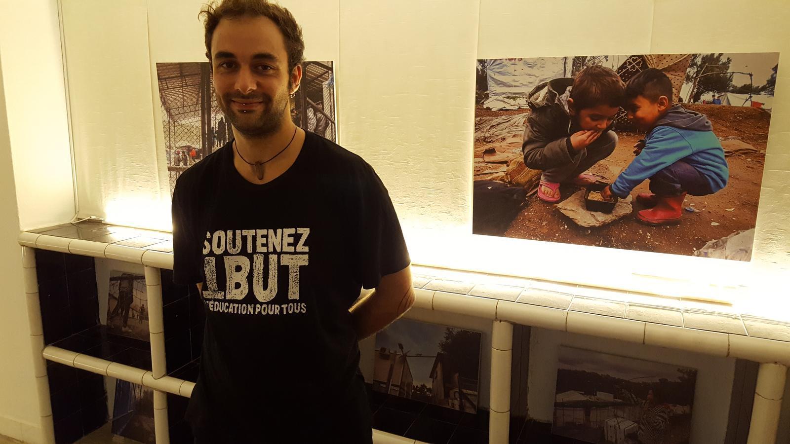 Diego Mejíbar a l'exposició From Inside