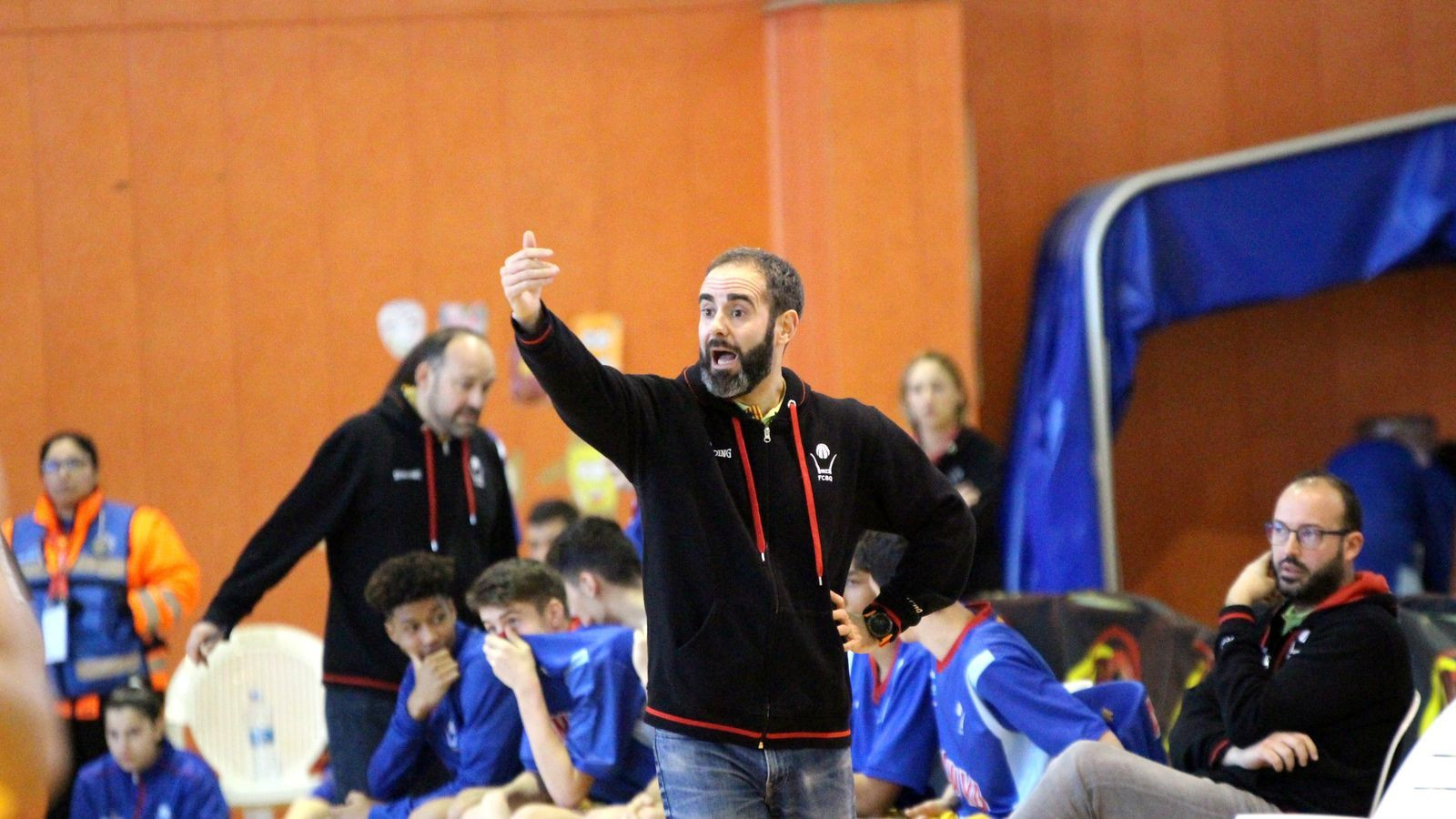 Òscar de Paula, durant el Campionat d'Espanya