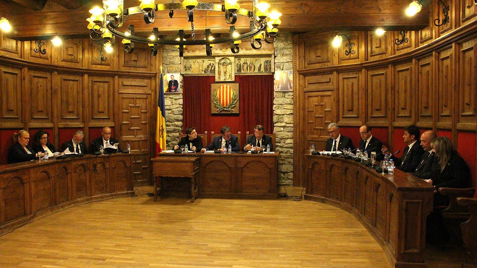 Una sessió de consell de comú. / ARXIU ANA