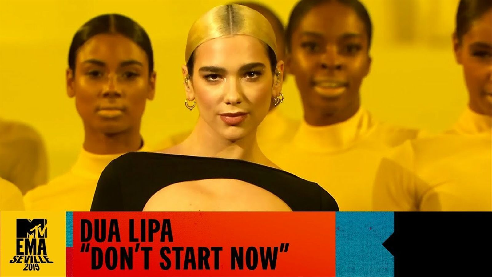 Dua Lipa: 'Don't Start now' als European Music Awards