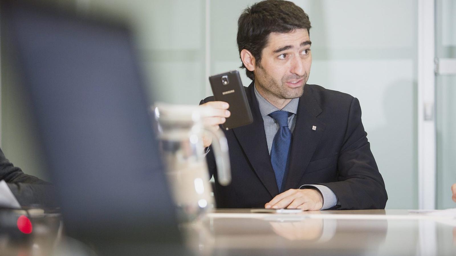 El secretari de Telecomunicacions, Jordi Puigneró / MANOLO GARCIA   FRANCESC MELCION