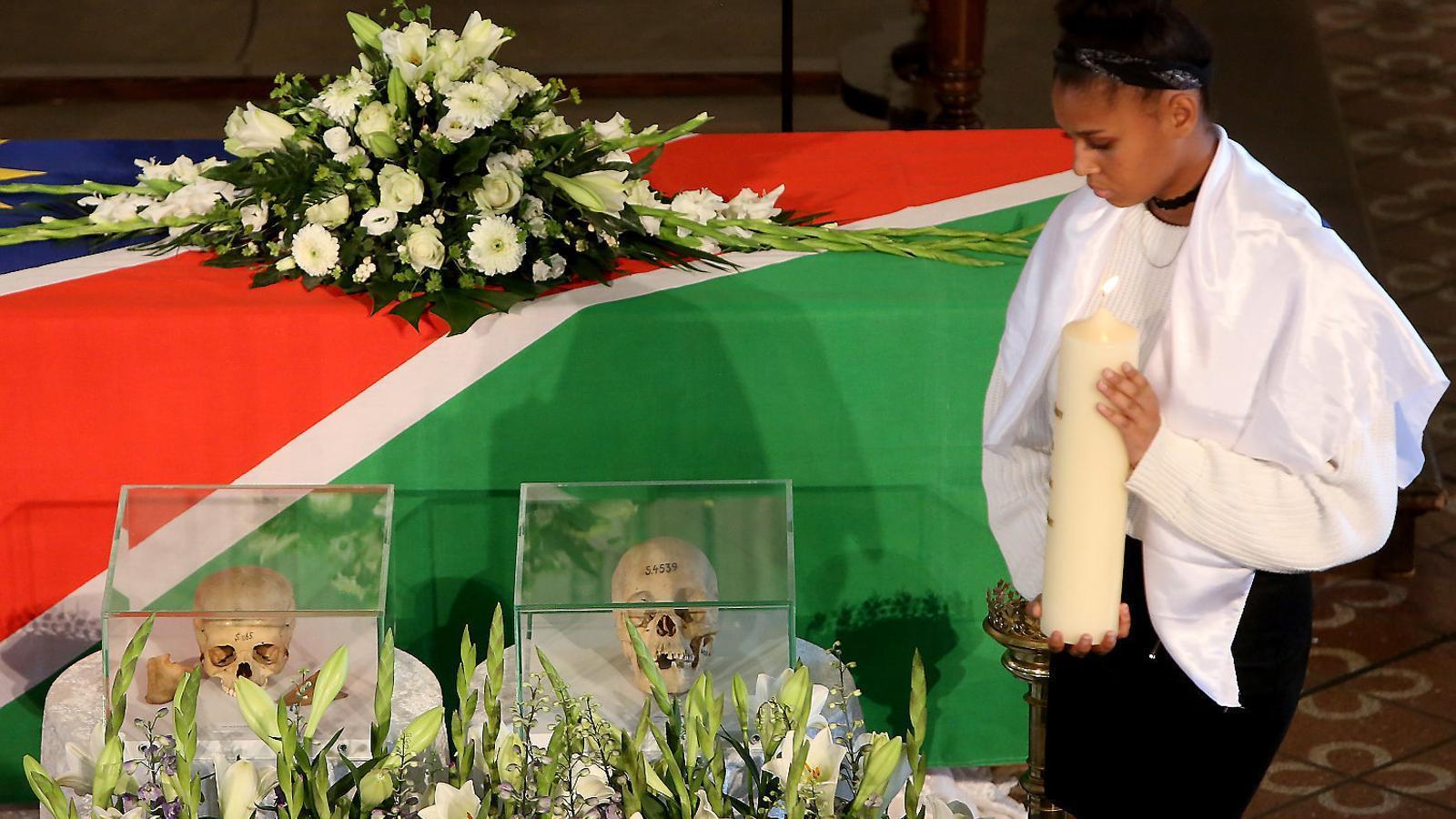Alemanya torna a Namíbia restes  del genocidi que va cometre al país