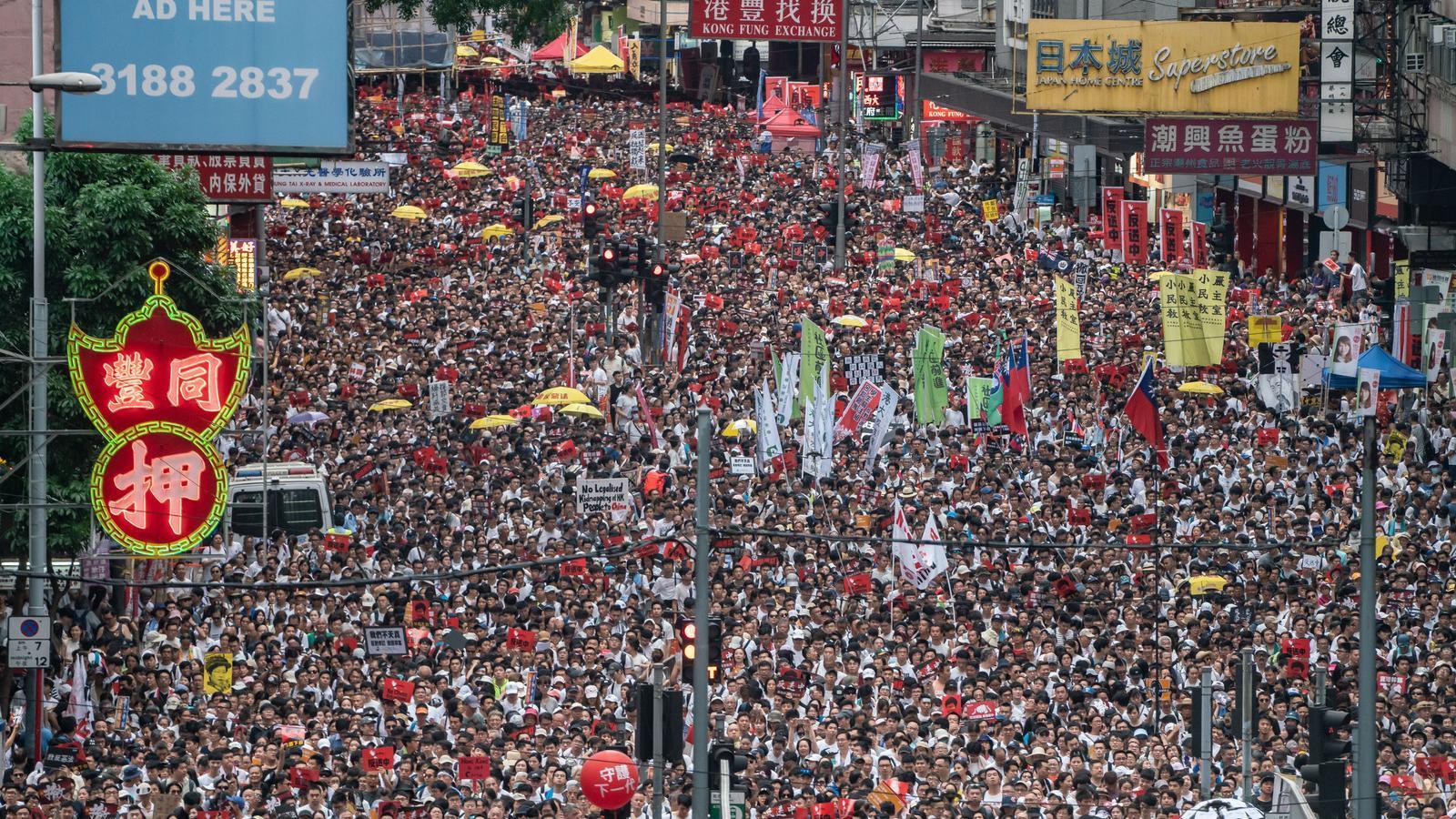 La llei d'extradició a la Xina inflama Hong Kong