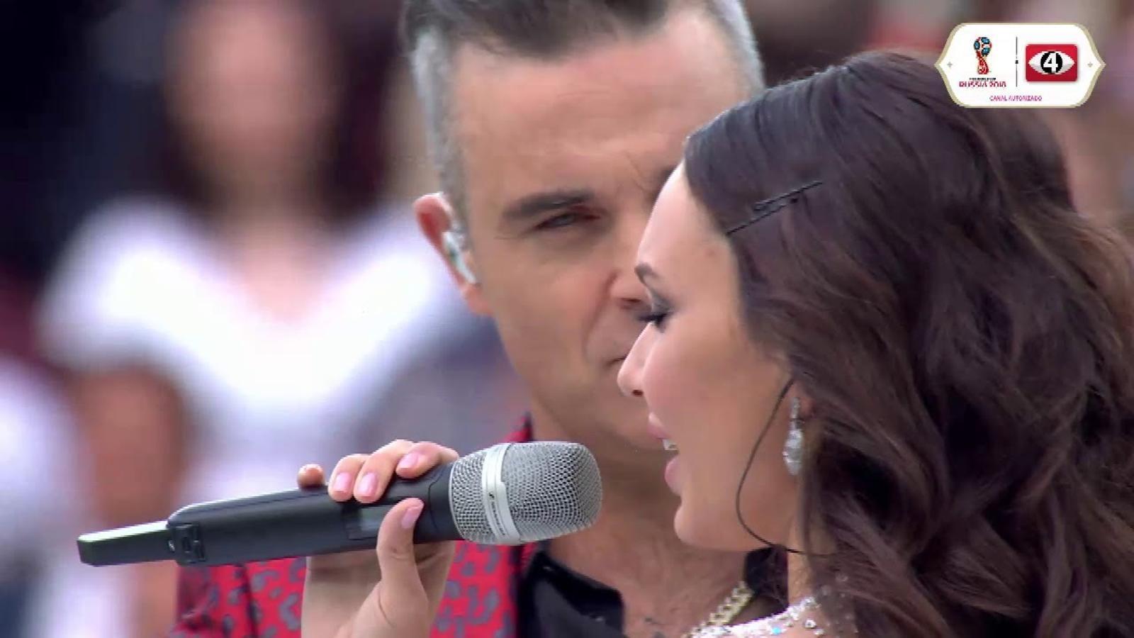 Actuació completa de Robbie Williams al Mundial de Rússia