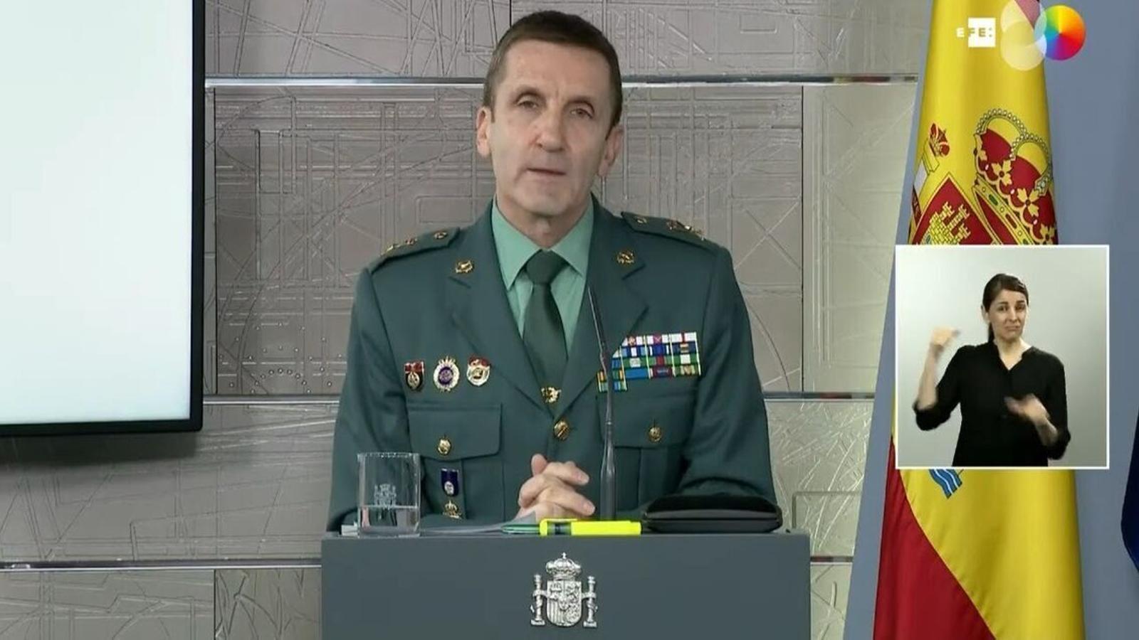 """La Guàrdia Civil va demanar per correu que es recopilin rumors que generin """"desafecció a institucions del govern"""""""