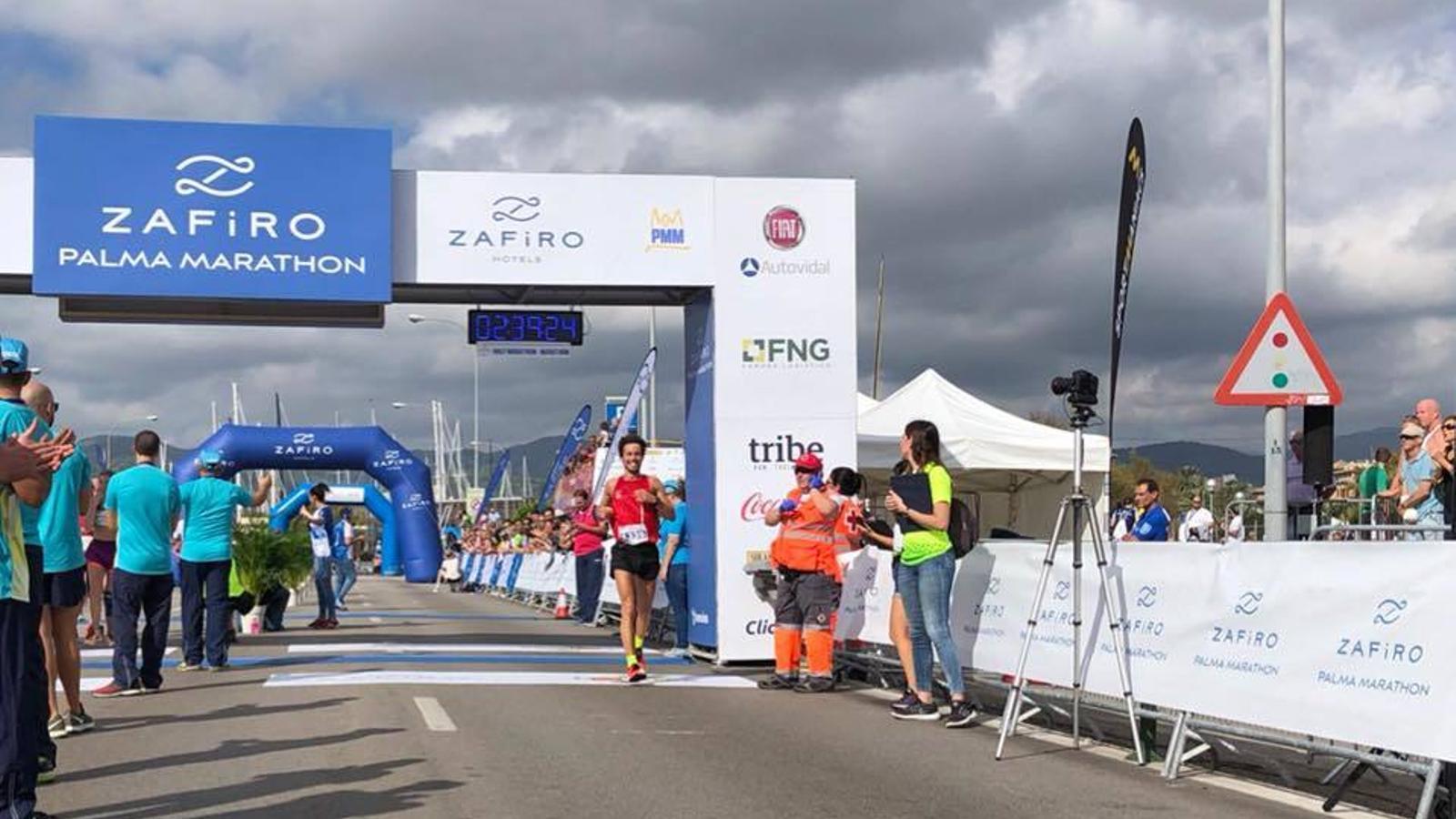 Joan Flotit ha entrat segon i s'ha proclamat  campió de Balears