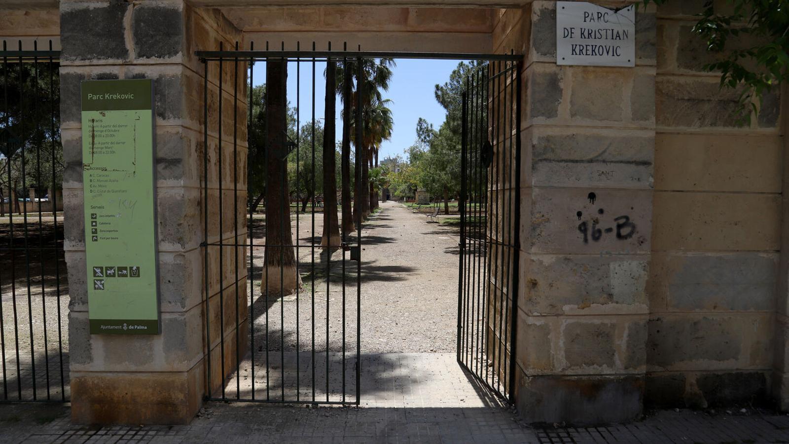Els parcs i jardins de Palma tancaran a les 20 h a partir de diumenge